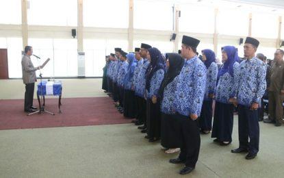 Bupati Bintan Lantik 27 Kepala sekolah SD dan SMP
