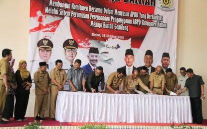 Rakerda Kabupaten Bintan Hasilkan Komitmen Capai APBD Berkualitas