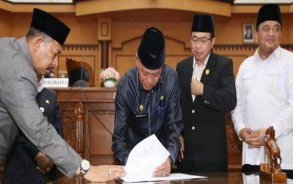 APBD-P Kota Tanjungpinang disahkan