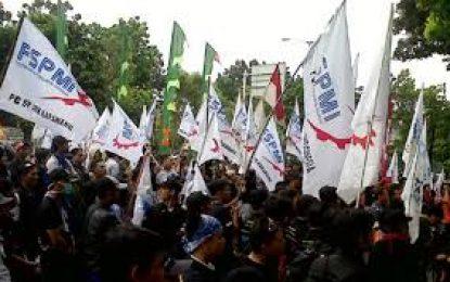 Janji Ketua DPRD Batam Disaat Demo FSPMI