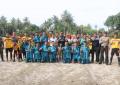 Mantang Baru FC Juarai Turnamen Sepakbola Desa Pangkil Cup 2018