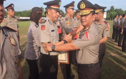 29 Personel Polda Kepri Berprestasi Mendapat Penghargaan