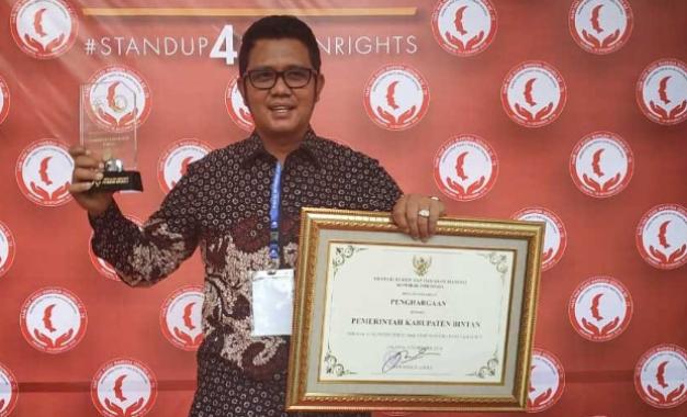 Dianggap Penuhi Beberapa Kriteria ,Bintan Raih Penghargaan HAM 2018