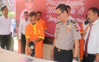 Alamak , Lelaki Ini Masukkan Sabu Empat Paket Kedalam Anus , Tertangkap di Bandara Hangnadim