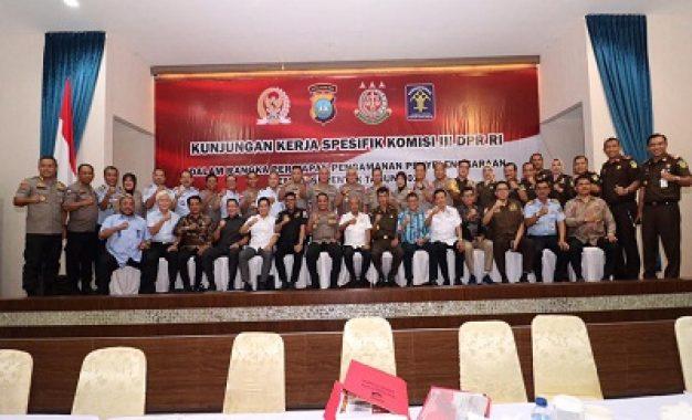 Komisi III DPR RI Kunjungi Polda Kepri