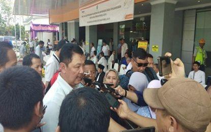 bright PLN Batam Gelar Apel Siaga Kesiapan Pengamanan Suplai Kelistrikan Pemilu