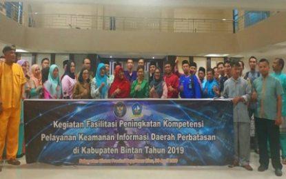 Pemkab Lingga Hadiri Acara Badan Siber dan Sandi Negara di Bintan