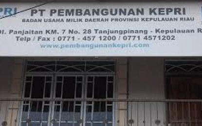 Gubernur Pilih Bakal Direktur Utama PT.Pembangunan Kepri