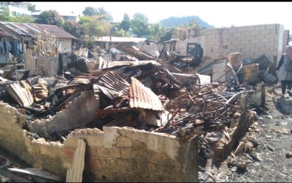 Bright PLN Batam Bantu Korban Kebakaran Baloi Persero,Warga  Ucapkan Terimakasih