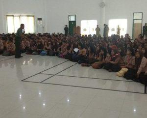 SMKN 12 Surabaya Dibekali Wawasan Kebangsaan dan Bela Negara