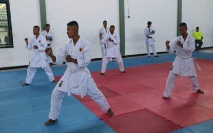 Hendak Naik Tingkat, Kemampuan Karate Perwira Yonif Raider 500/Sikatan Diuji