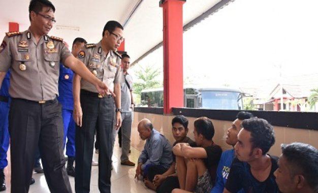 Polda Kepri Amankan PMI Ilegal Ditampung di Perumahan Pemko Batam