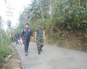 Pembangunan Jalan Sepanjang 1.620 Meter di Kecamatan Bendungan, Mulai Terwujud