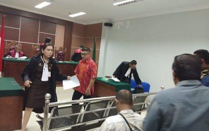 Pemeriksaan Terdakwa Amat Tantoso Dilanjutkan , Hakim Tanyakan Keberadaan Korban