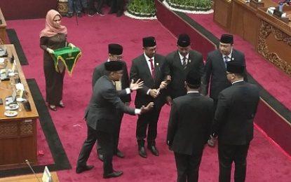 Inilah Sambutan Ketua Sementara DPRD Batam Putra Respati