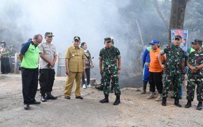 Sambut HUT TNI, Kecamatan Kepanjen Malang Jadi Sasaran Bakti Sosial