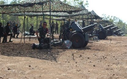 Latgab TNI.Danmenarmed 1 / PY-2 Kostrad Pastikan Kesiapan Jajaran Armed
