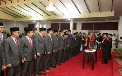Anggota DPRD Kabupaten Karimun Dilantik