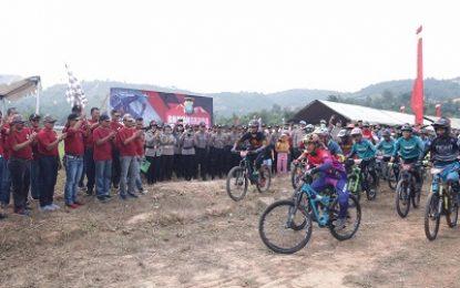 Kejuaraan Bhayangkara Enduro Digelar di Bukit Mangsang