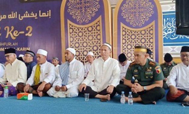 Kolonel Inf Zainuddin Sambang Ponpes Bahrul Maghfiroh