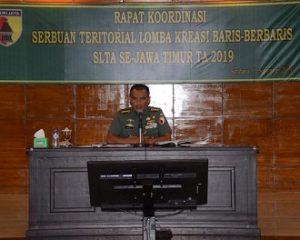 Kodam Brawijaya Gelar Lomba PBB Bagi Pelajar se Jawa Timur