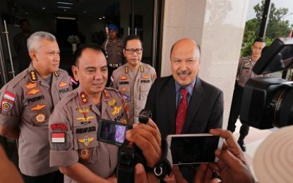 Cegah Kejahatan Antar Negara, Polda Kepri dan Polis Johor Malaysia Adakan Pertemuan