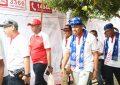 Zumba Ramaikan Senam di Lapangan Rampal