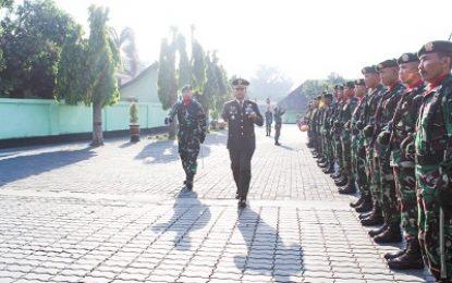 Menarmed 1/PY/2-Kostrad Selenggarakan HUT TNI Ke-74