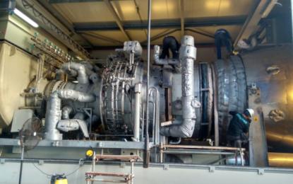 Pembangkit Listrik Gas Turbin PLTGU Tanjung Uncang Kembali Beroperasi