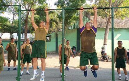 Olahraga, Prajurit Korem 082/CPYJ Jaga Kebugaran
