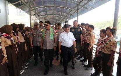 Wakapolda Kepri Kunker Polres Kepulauan Anambas