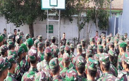 Danrem 082/CPYJ Beri Pengarahan 152 Personel Baru