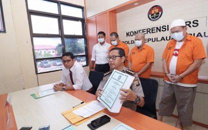 Ditreskrimsus Polda Kepri Ungkap Dugaan Tipikor Bernilai Belasan Miliar Rupiah