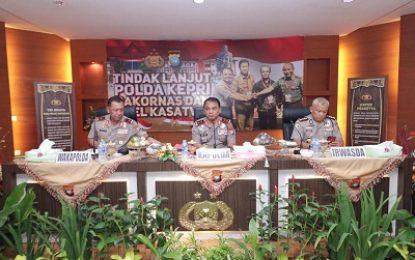 Kapolda Tekankan Kesiapan Polda Kepri Dalam Mengamankan Pemilu Serentak Tahun 2020 Mendatang