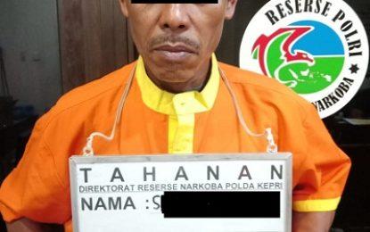 Ditresnarkoba Polda Kepri Amankan Tiga Orang Pengedar Narkotika