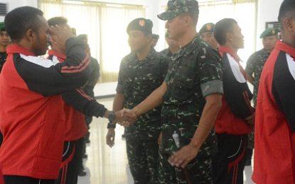 Danrem 084/Bhaskara Jaya Lepas Atlet Piala Panglima TNI
