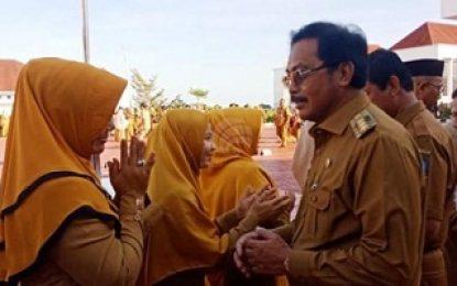 Ribuan Karyawan Pemprov Kepri Ikuti Apel Bersama Usai Cuti Idul Fitri