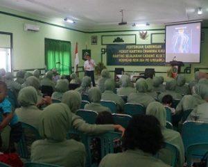 Ny. Putut Witjaksono Minta Para Persit Bijak Bermedia Sosial