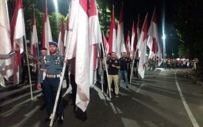Parade Merah Putih, Peringati Hari Pahlawan di Kodim Surabaya Utara