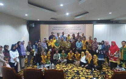 Pengadaian adakan Seminar Rahn Tasjily Edukasi Aset Sertifikat tanah Bersama BPN Tanjung Balai Karimun