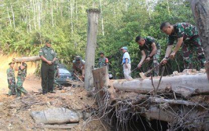 Kapendam XII/Tpr : TMMD 106 Menyatukan Dusun di Ujung Negeri