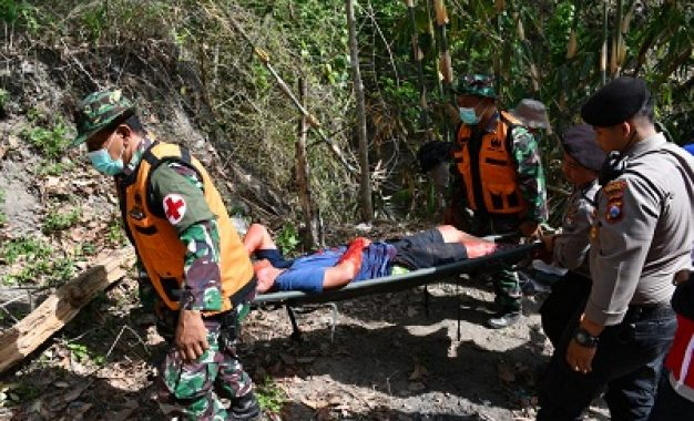 Latihan Penanggulangan Bencana di Kediri, Wujud Kepedulian TNI ke Masyarakat