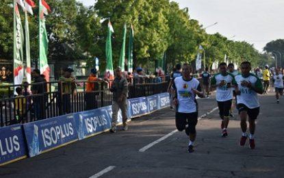 Danrem Bhaskara Jaya Ramaikan Lomba Lari 10 Kilometer