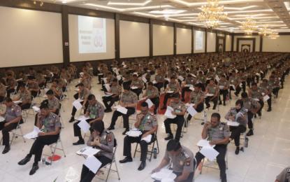 Peserta Seleksi Sekolah Inspektur Polisi, Jalani Tes Psikologi