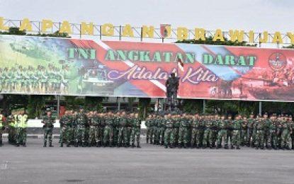 Siapkan Pasukan Pengamanan Menjelang Kunjungan Presiden di Surabaya