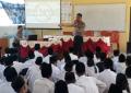Polsek Meral Giat Goes To School di SMPS AL Hikmah Meral.