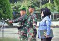 Upacara Rutin, Korem 084/Bhaskara Jaya Libatkan Pelajar