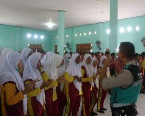 Polda Kepri Gelar Penyuluhan Kesehatan Kepada Pelajar di Natuna