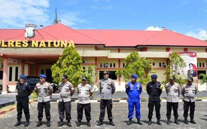 Kapolda Kepri Bersama Danrem 033/WP Brigjen TNI Gabriel Lema Kunjungi Natuna