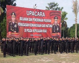Kapolda Kepri Apresiasi 229 Personel yang Menjalankan Tugas Kemanusiaan